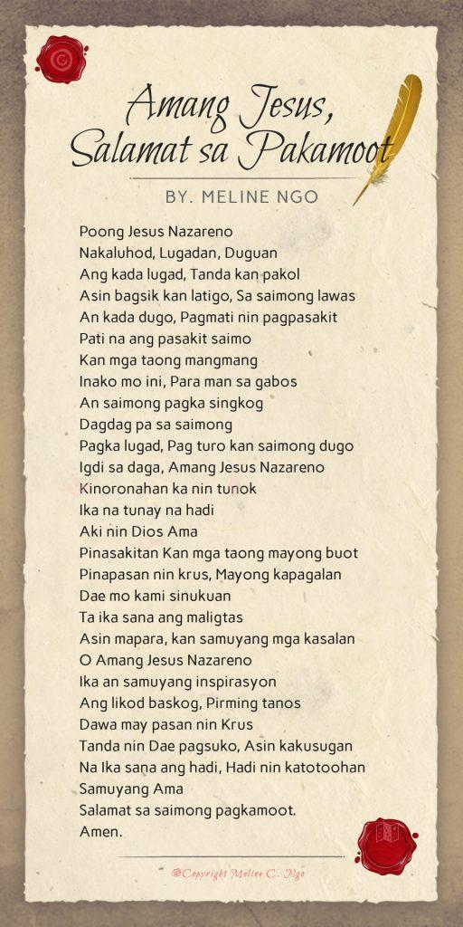 poem / poetry